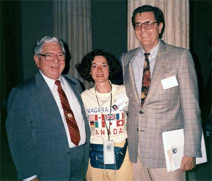 Jose Silva and Burt Goldman with Dr. Fullam